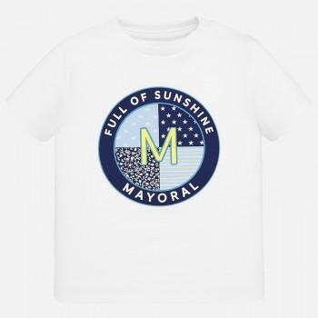 Μπλούζα Mayoral κοντομάνικη λευκή