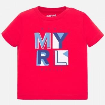 Μπλούζα Mayoral κόκκινο κοντομάνικη