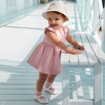 Φόρεμα Mayoral ροζ