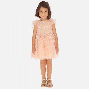 Φόρεμα Mayoral ροδακινί