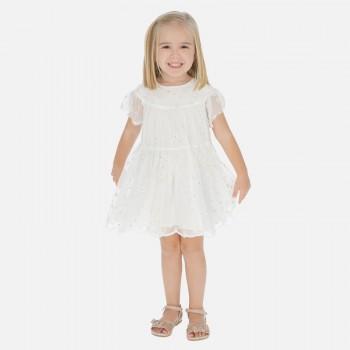 Φόρεμα Mayoral εκρού