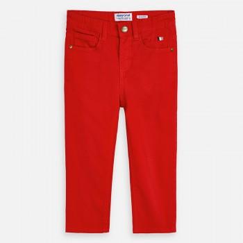 Παντελόνι Mayoral slim fit κόκκινο