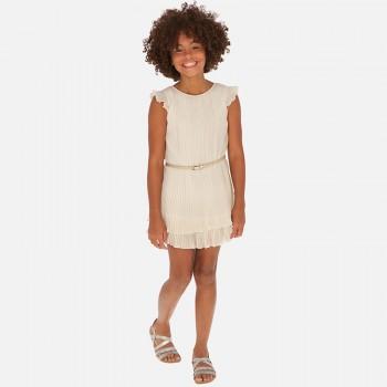 Φόρεμα Mayoral σαμπανιζέ
