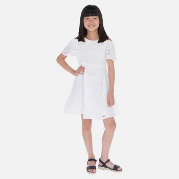 Φόρεμα Mayoral λευκό