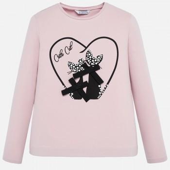 Μπλούζα Mayoral ροζ