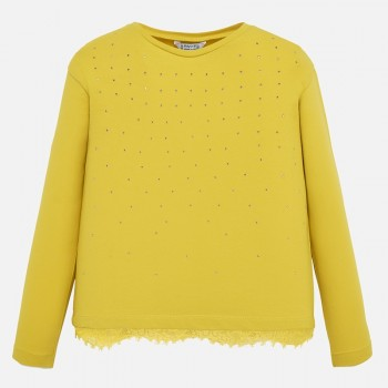 Μπλούζα Mayoral κίτρινη