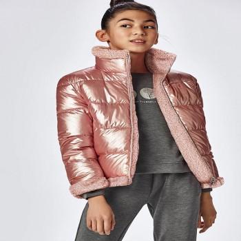 Μπουφάν Mayoral ροζ 2ης όψεως