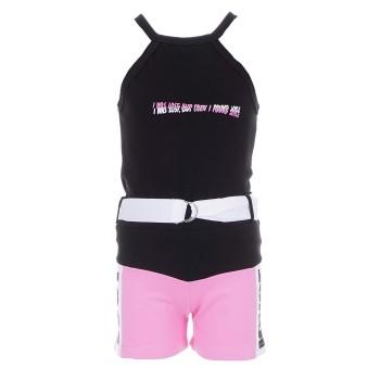 Σύνολο Joyce μαύρο-ροζ