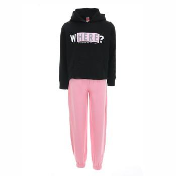 Φόρμα Joyce μαύρο-ροζ