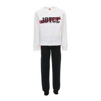 Φόρμα Joyce λευκό-μαύρο