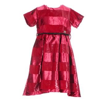 Φόρεμα Ebita κόκκινο βελουτέ