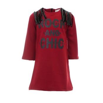 Φόρεμα Ebita μπορντώ