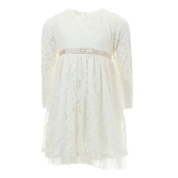 Φόρεμα Ebita εκρού δανδέλα