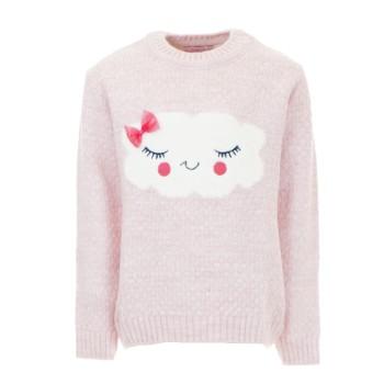 Μπλούζα Ebita ροζ πλεχτή