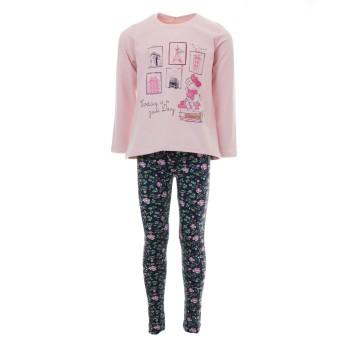 Σύνολο Ebita ροζ- floral