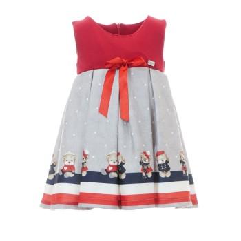 Φόρεμα Ebita κόκκινο γρκι