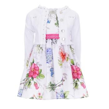 Σετ φόρεμα floral- σακάκι Ebita