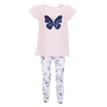 Σύνολο Ebita ροζ πεταλούδα