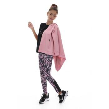 Σύνολο Ebita ροζ- animal print 3τμχ