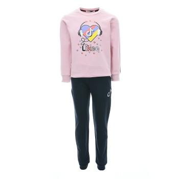 Φόρμα Ebita'' tik tok'' ροζ-μαρέν