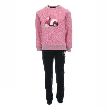 Φόρμα Ebita ροζ-μαρέν animal