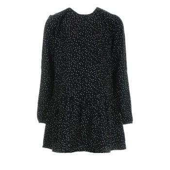 Φόρεμα Losan μαύρο πουά