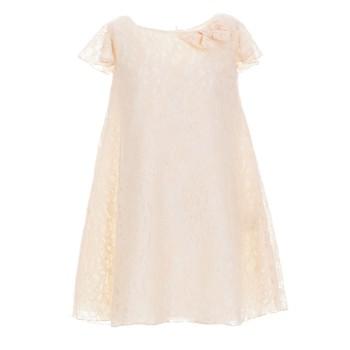 Φόρεμα M&B Fashion σομόν δανδέλα