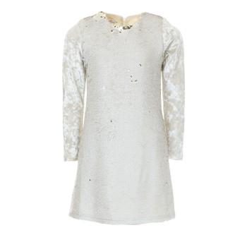 Φόρεμα M&B fashion μπεζ πούλιες