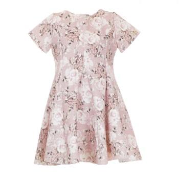 Φόρεμα M&B fashion ροζ floral