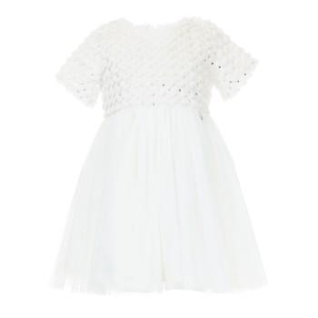 Φόρεμα M&B fashion εκρού