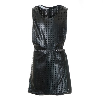 Ολόσωμο M&B fashion σορτς μαύρο