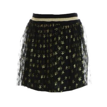Φούστα M&B fashion μαύρο-χρυσό