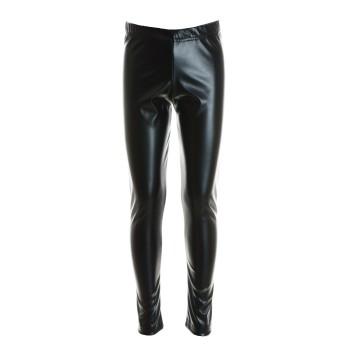 Κολάν M&B fashion μαύρο δερματίνη