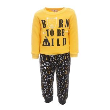 Φόρμα Hashtag κίτρινο-μαύρο
