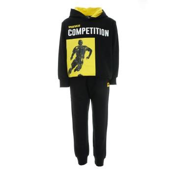 Φόρμα Sprint μαύρο-κίτρινο