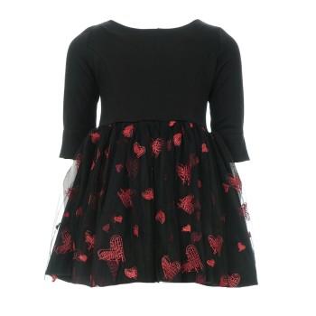 Φόρεμα Alice μαύρο με τούλι