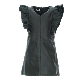 Φόρεμα Alice δερματίνη μαύρο