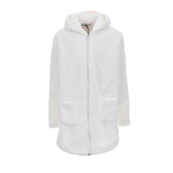 Ζακέτα γούνινη Prod λευκό