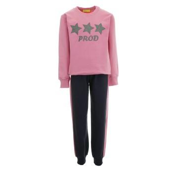 Φόρμα Prod ροζ-ανθρακί ''αστέρια''