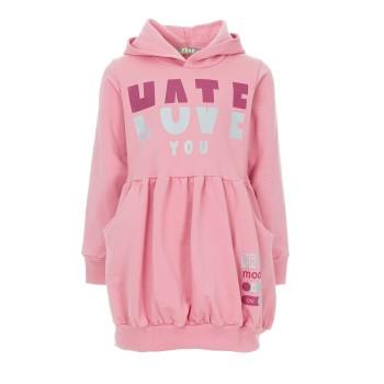 Μπλουζοφόρεμα Prod ροζ
