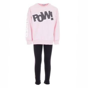 Σύνολο φούτερ fun strike pink pow