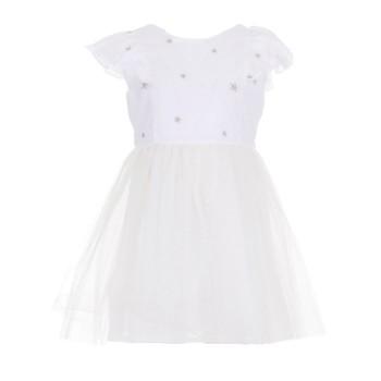 Φόρεμα Glous λευκό τουτού