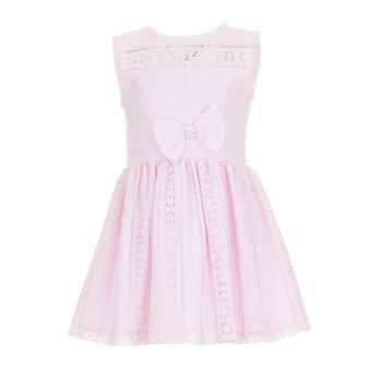 Φόρεμα Glous ροζ γκιπούρ