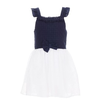 Φόρεμα Glous λευκό-μαρέν