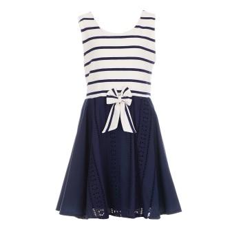 Φόρεμα Glous μπεζ μαρέν γκιπούρ