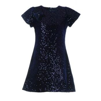 Φόρεμα Glous μπλε πούλιες