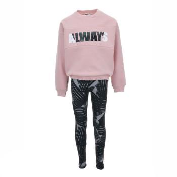 Σύνολο Nekiswear ροζ-μαύρο pcp