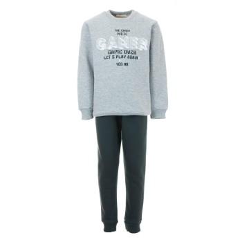 Φόρμα Nekidswear μελανζέ-χακί