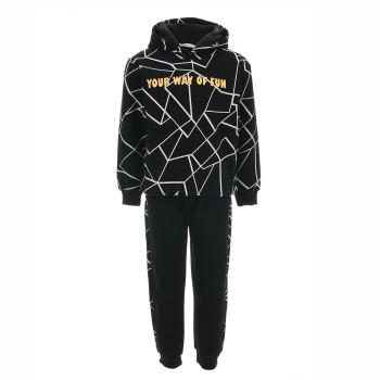 Φόρμα Nekidswear μαύρο φούτερ