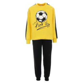 Φόρμα Nekidswear κίτρινο-μαύρο φούτερ